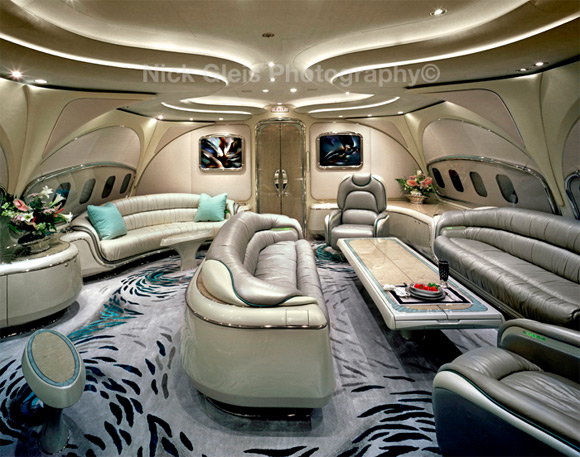 furniture private jet Photos From The Inside Of Most Luxurious Private Jets