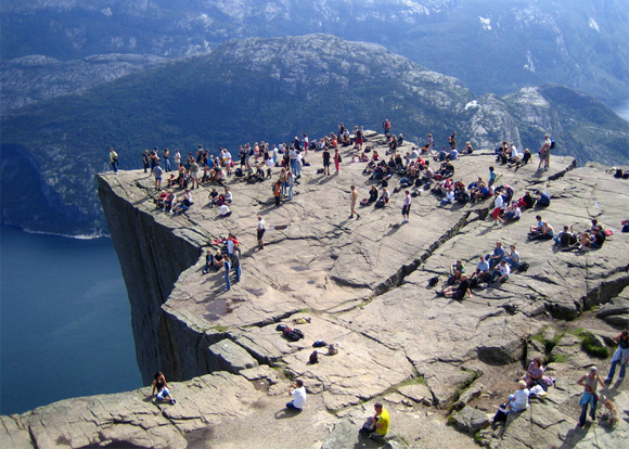 norway picnic Preikestolen – an amazing Norwegian attraction