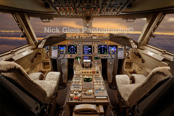 pilot cabin private jet Photos From The Inside Of Most Luxurious Private Jets