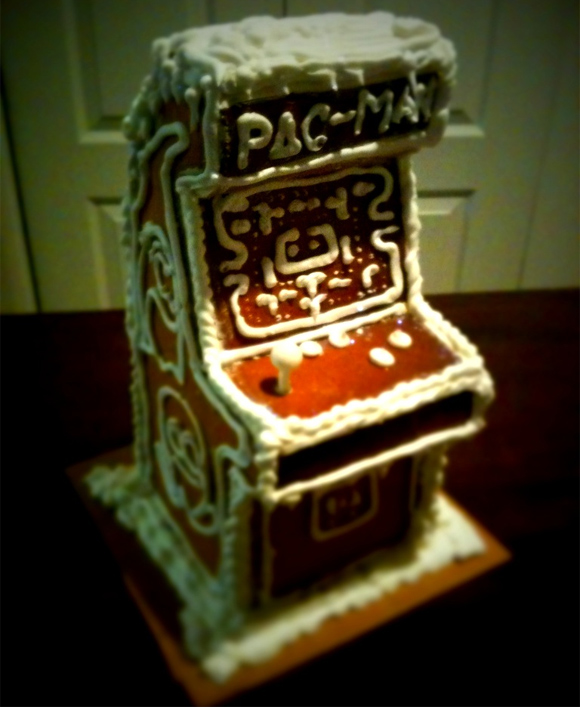 pacman gingerbread Geeks Know How To Make Gingerbread
