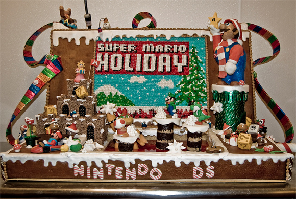 super mario ginger Geeks Know How To Make Gingerbread