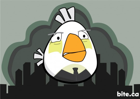 angry birds alfred Watch Out For Angry Batbirds