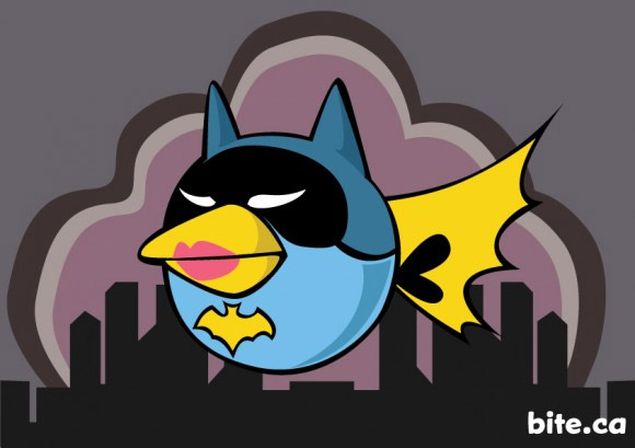 angry birds batgirl Watch Out For Angry Batbirds