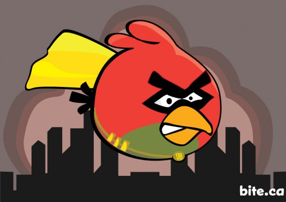 angry birds robin Watch Out For Angry Batbirds