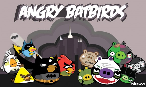 angry birds Watch Out For Angry Batbirds