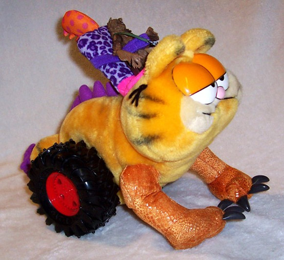 frankentoys garfield Two Toys Give You One Unique Franken Toy