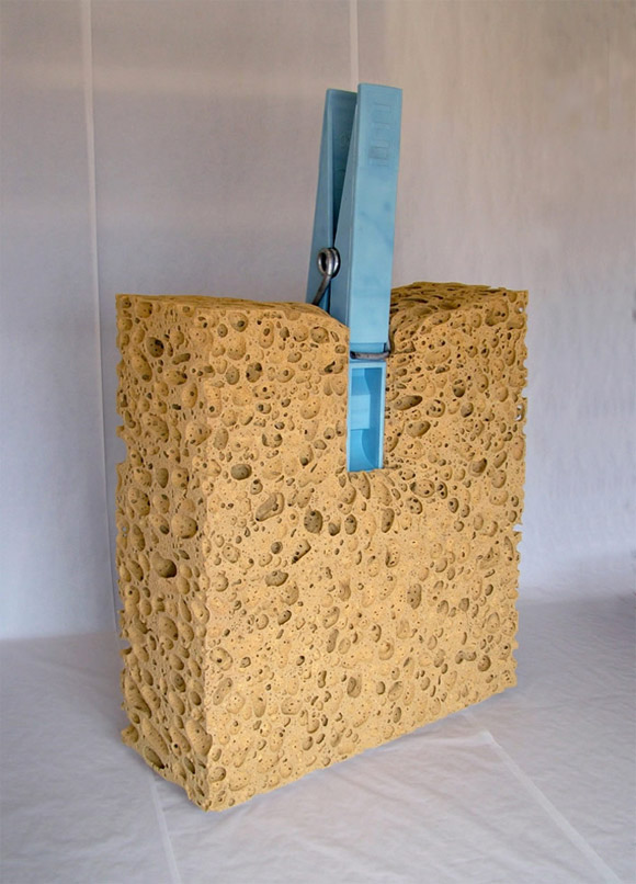 celdran giant sponge Everyday Items Get Surprisingly Oversized