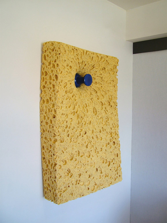 pinned sponge wall Everyday Items Get Surprisingly Oversized