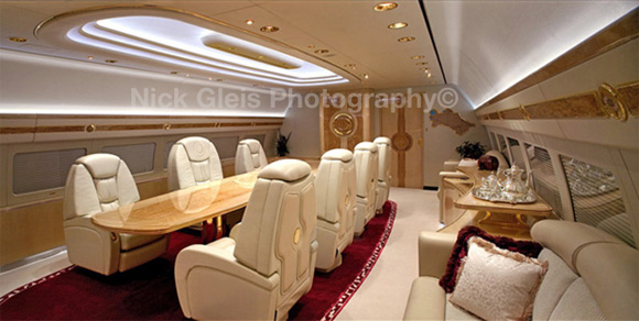 conference room private jet Photos From The Inside Of Most Luxurious Private Jets