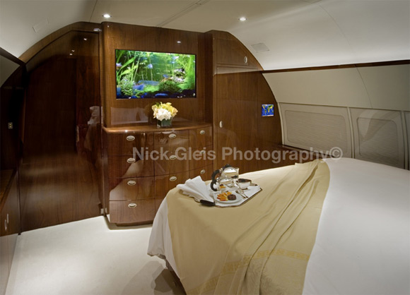 private jet aquarium Photos From The Inside Of Most Luxurious Private Jets