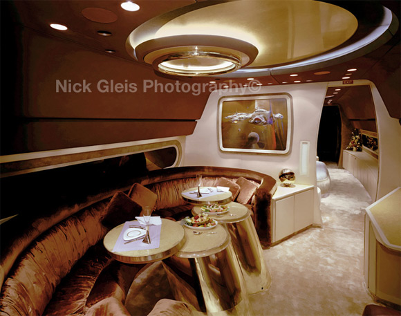 private jet launge Photos From The Inside Of Most Luxurious Private Jets