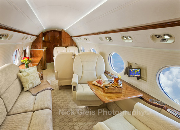 privatejet2 Photos From The Inside Of Most Luxurious Private Jets