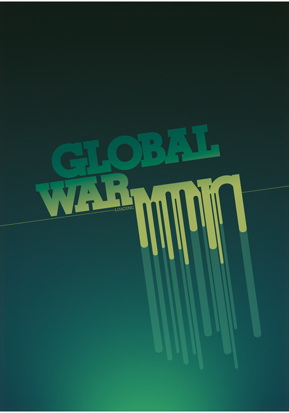 global warming ad2 Clever And Cool Global Warming Illustrations