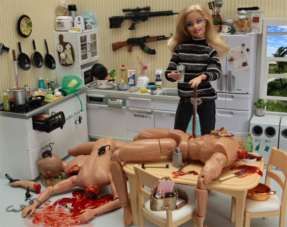 barbie killer5 Meet Barbie The Serial Killer