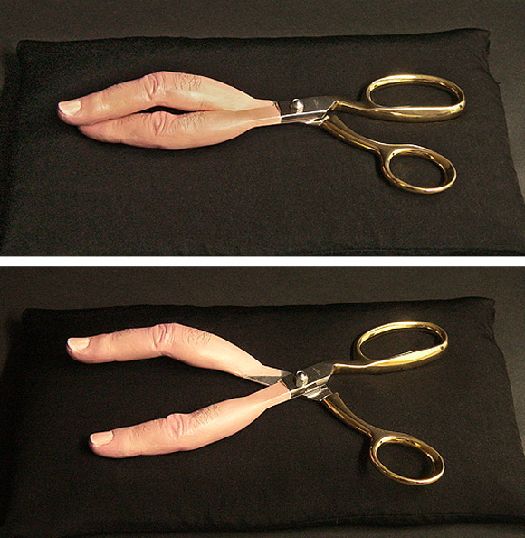 fingers scissors Objects And Tools Mixed Up With Body Parts